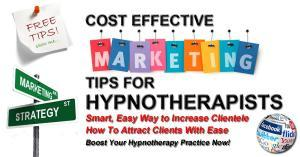 hypnotherapy marketing